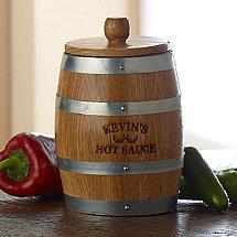 Personalized Pepper Aging Barrel