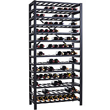 Free Standing Metal Wine Rack (126 Bottle)