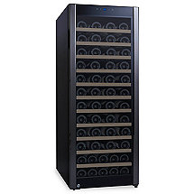 80-Bottle Evolution Series Wine Refrigerator (Glass Door with Black Stainless Steel Trim)