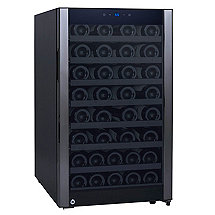 52-Bottle Evolution Series Wine Refrigerator (Glass Door with Black Stainless Steel Trim)