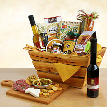 Rustic California Gift Basket