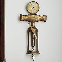 Antique Corkscrew Clock