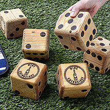 Wine Lawn Dice (Set of 6)
