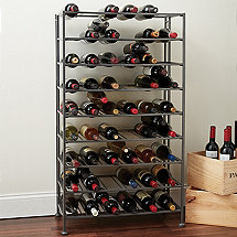 folding metal wine rack - Metal Wine Rack