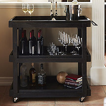 Reclaimed Industrial Bar Cart