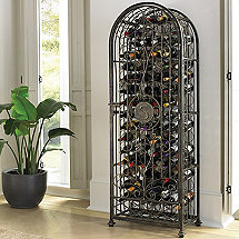 Personalized Antiqued Grapevine Wine Jail