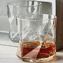 Geo Whiskey Glasses (Set of 4)