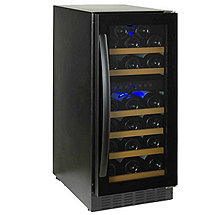 Wine Enthusiast S-29 Bottle Dual-Zone with Black Trim Wine Cellar (Outlet)