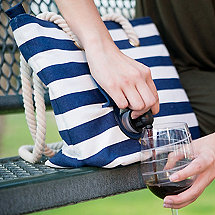 Portovino Canvas Wine Bag