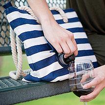 Portovino Canvas Wine Bag