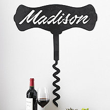 Personalized Corkscrew Sign (3 Feet High)