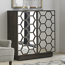 Honeycomb Bar Cabinet