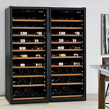 Classic XL 600-Bottle Wine Cellar with VinoView Shelving