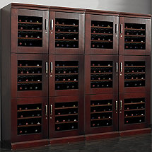 Trilogy Quad Wine Locker
