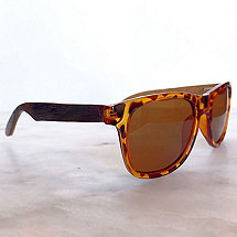 Wine Barrel Sunglasses (Tortoise Shell)