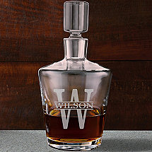 Personalized Ambassador Whiskey Decanter