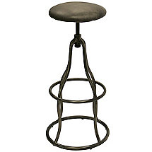 Churchill Swivel Stool (Ebony)
