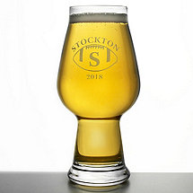 Personalized 'Big Game' Beer Glass (Set of 2)
