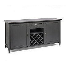 Firenze Wine and Spirits Credenza (Antique Gray)