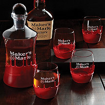 Maker's Mark Hand-Dipped Decanters & Glasses Set