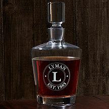 Personalized Ambassador Whiskey Decanter