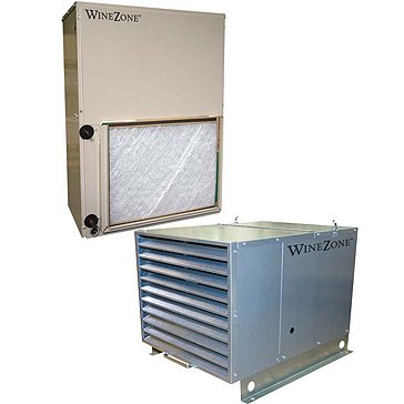 WineZone Air Handler 9500 Vertical Evaporator