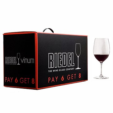 Pay 6 Get 8 Riedel Vinum Cabernet / Bordeaux (Set of 8)