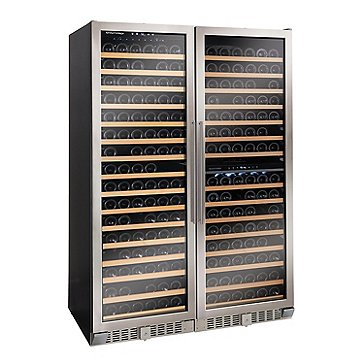 N'FINITY PRO2 Double L & Li Multi Zone Wine Cellar (Stainless Steel)