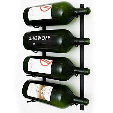 VintageView Wall Series Big Btl Rack (4 Btl)