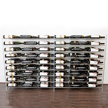 VintageView Evolution Series 4 Foot Wine Rack Extension (81 Bottle)