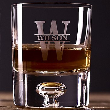 Personalized Lexington Whiskey Glasses Set of 2