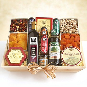 Ultimate Meat & Cheese Gift Crate