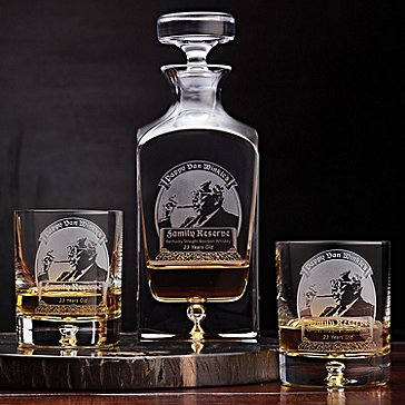 Pappy Van Winkle's Family Reserve 23 Year Whiskey Decanter & Glasses Set