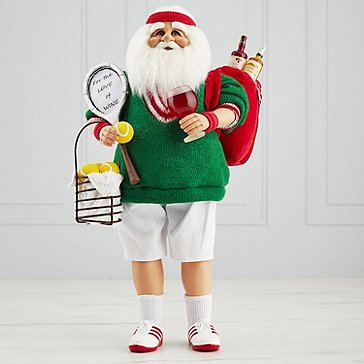 Karen Didion 'For The LOVE Of Wine' Tennis Santa