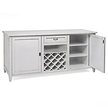 Firenze Wine and Spirits Credenza (Antique White)
