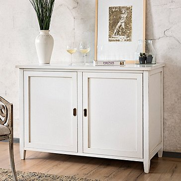 Firenze Mezzo Wine and Sprits Credenza (Antique White)