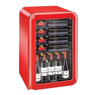 Jazz by Wine Enthusiast 36-Bottle Wine Cooler (Gloss Red)