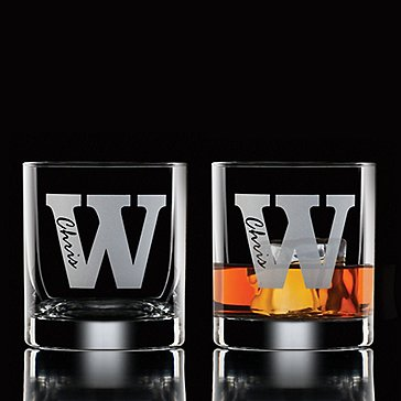 Personalized Amsterdam Whiskey Glasses (Set Of 2)