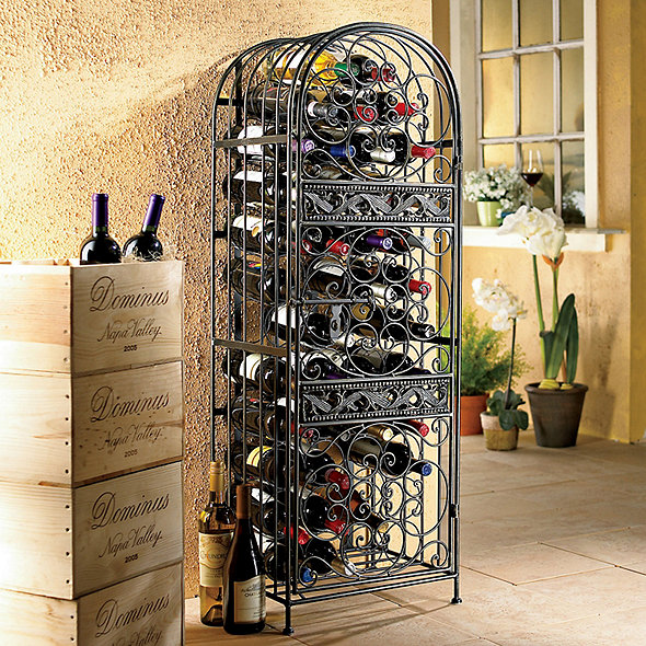 Renaissance Wrought Iron Wine Jail