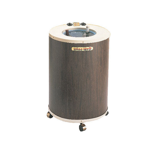 Walnut Laminate Wine Well Wine Chiller