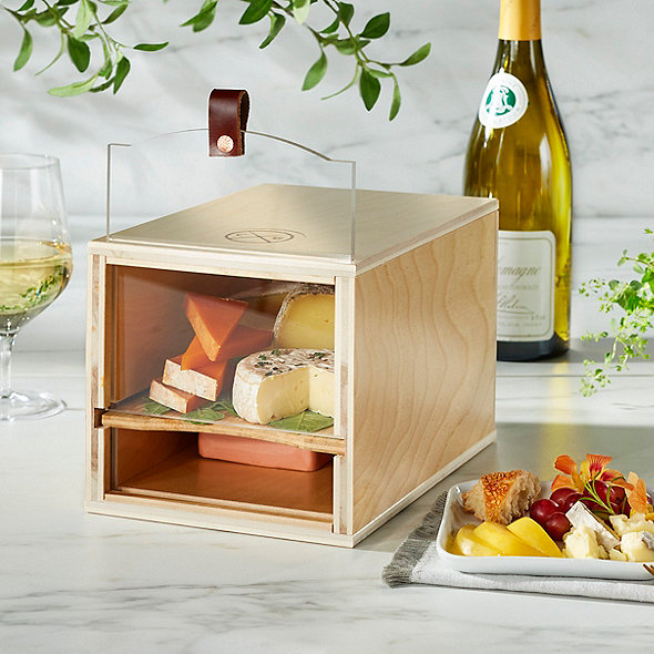 Handcrafted Wooden Cheese Grotto Mezzo