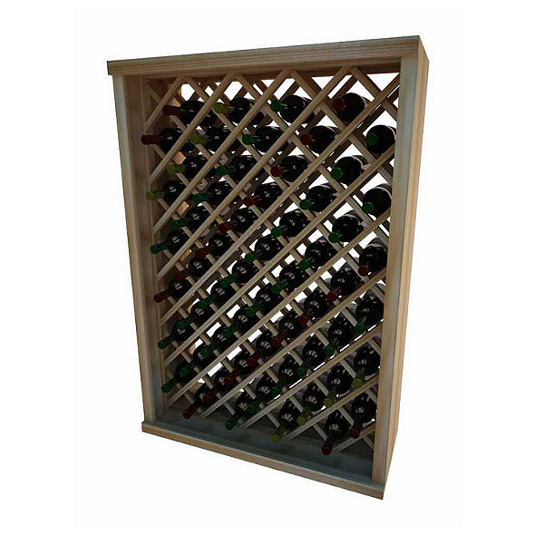 Napa Vintner Stackable Wine Rack Individual Diamond Bin