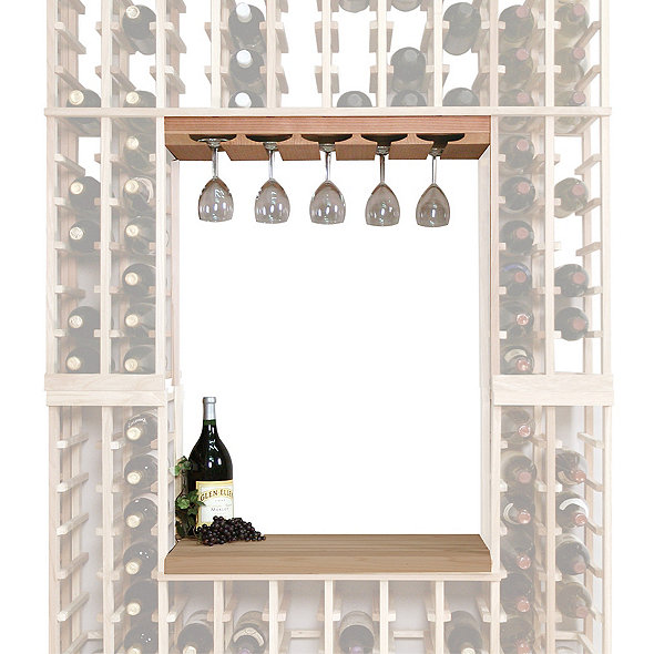 Napa Vintner Stackable Wine Rack - Glass Rack & Table Top Insert