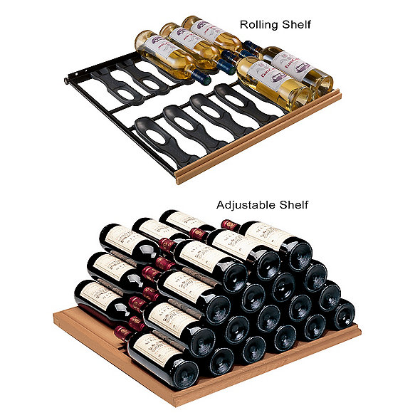 EuroCave Storage Pack - 2 Adjustable & 3 Main du Sommelier Rolling Shelves