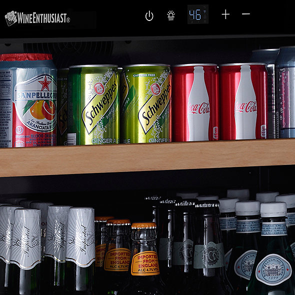N'FINITY S Beverage Center (Stainless Steel Door)