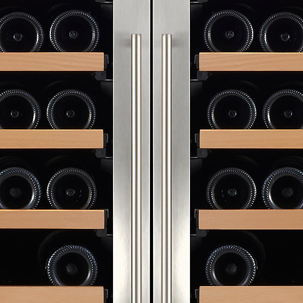 N'FINITY Double LXi Single Zone + LX Dual Zone Max Wine Cellar (Stainless Steel Door)