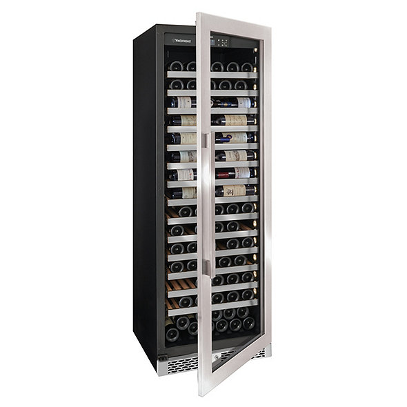 Vinotheque Café Single Zone Wine Cellar with Steady-Temp™ Cooling (Stainless Steel Door)
