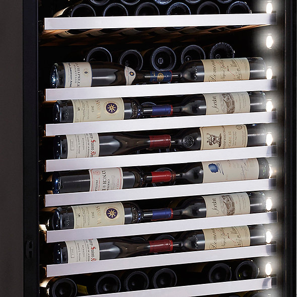 Vinotheque XL Single Zone Wine Cellar with Steady-Temp™ Cooling (Stainless Steel Door)