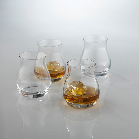 Glencairn Wide-Bowl Whisky Glasses (Set of 4)