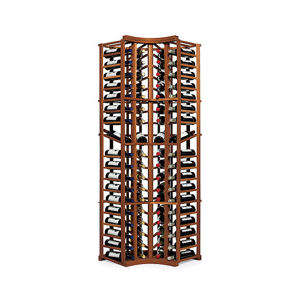 N'FINITY Wine Rack Kit - 4 Column Curved Corner with Display